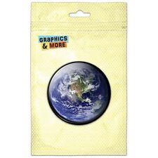 Earth North America View Kitchen Refrigerator Locker Button Magnet