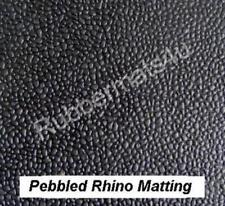 Orange Peel Garage Rubber Floor Matting 1.4m wide x 3mm thk x various lengths