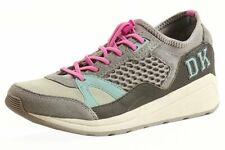 Donna Karan DKNY Women's Janine Dark Flint Fashion Sneakers Shoes