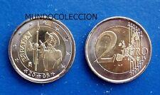 ESPAÑA 2 euros 2005 QUIJOTE conmemorativa - SPAIN 2 € QUIXOTE - UNC