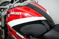 Ducati Monster 696 796 1100 2008-2013 Luimoto Tank Leaf Kit Knee+Tank Grips+Pad