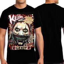 KND Twisty Candy Clown American Horror Story Freak Show Mens T-Shirt Black New