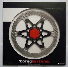 Corsa Estrema Unique disque Semi-flottant Lumière alu NOIR/noir 180mm NOUVEAU