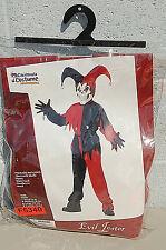 Evil Jester Boy's Halloween Costume F5340