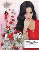 """PUBLICITE ADVERTISING 2011   PM  THOMAS SABO """" KATY PERRY bijoux       220812"""