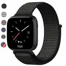 US Soft Nylon Loop Strap Bracelet Sport Style Watch Band For Fitbit Versa /2
