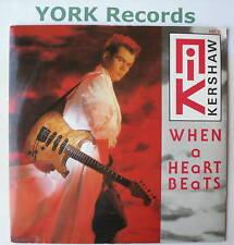 "NIK KERSHAW - When A Heart Beats - Ex Con 7"" Single"
