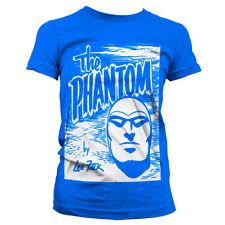 Licencia Oficial The Phantom - The Phantom Dibujo Mujer CAMISETA S-XXL Tallas