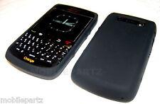 Original Blackberry De Goma Negra De Piel De Silicona Funda Para Bold 9700 / 9780