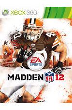 Madden NFL 12 (Xbox 360) FREE POSTAGE