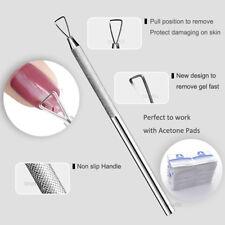 Gel Nail Polish SNS Nails Remover Scraper Plane Peeler Puller Tool Acetone Pads