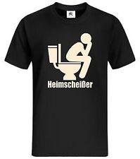 Heimscheißer T-Shirt Fun Shirt Lustig WC Ich kack zuhause Bundy Geschenk 30 50