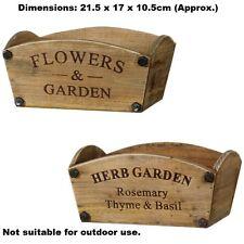 Antique magnifique porté rustique en bois planteur merveilleux design