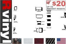 Rdash Dash Kit for Jeep Grand Cherokee 1996-1998 Auto Interior Decal Trim