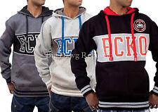 Ecko Para Hombre Chicos Unisex mantree Star Hip Hop Con Capucha G, Negro tiempo el dinero es Chaqueta