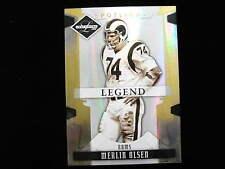 2008 Leaf Limited Spotlight Merlin Olsen  legend  Rams  serial numbered 20 of 49