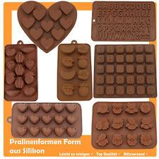 Silikon Pralinenform Schokoladenform Backform Hohlkörperform  Ausstecher Fondant