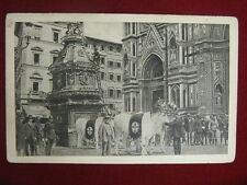 FIRENZE-CARRO DEL SABATO SANTO, viagg, anni 20 #10689