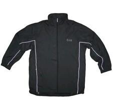 Mens KAM Waterproof Smart Rain Mac Jacket Black Big Size 2-8XL