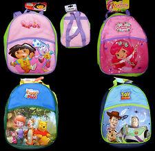 Rucksack Dora Emily Erdbeer Winnie Toy Story Disney Kindergarten Tasche NEU