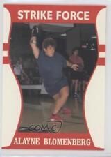 1991 Little Sun Ladies Bro Bowling Tour Strike Force #48 Alayne Blomenberg Card