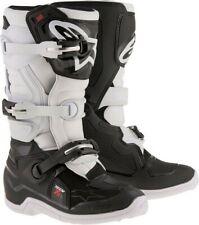 Alpinestar Tech 7S Kids Youth MX Motocross Boot BLACK/WHITE