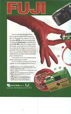 PUBLICITE ADVERTISING  1987    FUJI  film SUPER HR