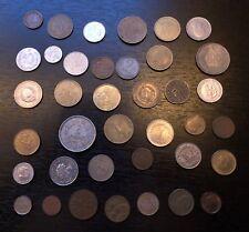 Kursmünzen Alle Welt, 150-390 Gramm, viel Europa aus Umlauf, dabei  50 Pfe. BRD