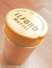 Scatola in latta per 35 mm 35mm ILFORD refill vintage anni '40 '50 box only