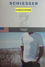 10 SCHIESSER 1/2 ARM AMERICAN T-SHIRTS RUNDHALS 008150