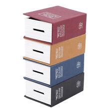 Creative Dictionary Hidden Book Safe Lock Secret Security Money Stash Tool Jian