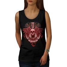 13 The Lucky One Skull Women Tank Top NEW | Wellcoda