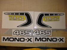1981 YAMAHA YZ 465 COMPLETE DECAL SET AHRMA