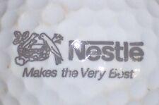 (1) NESTLE LOGO GOLF BALL (MAKES THE VERY BEST)
