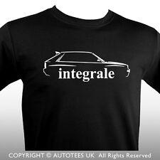 LANCIA DELTA HF INTEGRALE INSPIRED CLASSIC CAR T-SHIRT