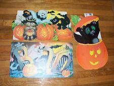 Vintage Decorations Extra Lg Halloween Diecuts Cutouts Eureka  U Pick NOT a LOT