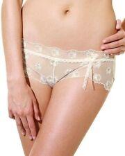 PANACHE Superbra Eliza Short Brief LINGERIE Ivory Lace 4154 Size UK 16 NEW