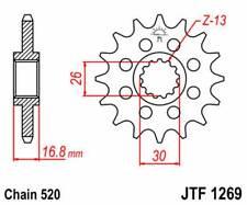 F126916: JT SPROCKETS Piñon JT 1269 de acero con 16 dientes