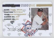 2004 Donruss Studio Stars Gold #SS-9 Brian Giles San Diego Padres Baseball Card