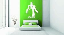 Iron Man wall sticker vinyl graphic decal large suit avengers stark tony