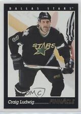 1993-94 Pinnacle French #303 Craig Ludwig Dallas Stars Hockey Card