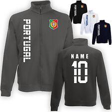 Portugal Jacke Sweatjacke Trikot mit Name & Nummer S M L XL XXL