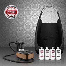 Aura Allure Spray Tan Kit + Tent + OMG Spray Tanning Solutions 4 x 250ml