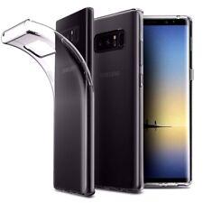Cover Trasparente per Samsung Galaxy Note 8 Custodia Morbida Leggera TPU + PANNO