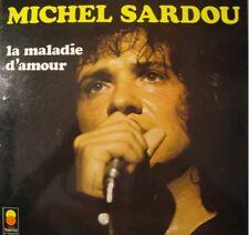 MICHEL SARDOU la maladie d'amour LP33T 1973 le curé VG+