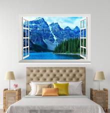 3D Hills Cielo Azul ver 220 ventanas abiertas Pared de papel pintado wandbilder impresión AJ Jenny
