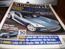 Car and Driver Magazine 2/2005 425-hp Hemi V-8