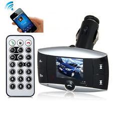 Auto Kit FM Transmitter Bluetooth Modulator Wireless MP3 Player USB SD w/ Remote