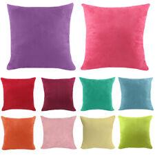 Multi Color Cushion Cover Soft Pillow Case Office Home Car Sofa Decoration
