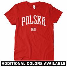 POLSKA T-shirt - Poland 1918 Warsaw Krakow Poznan Lodz Wroclaw - Women's S-2XL